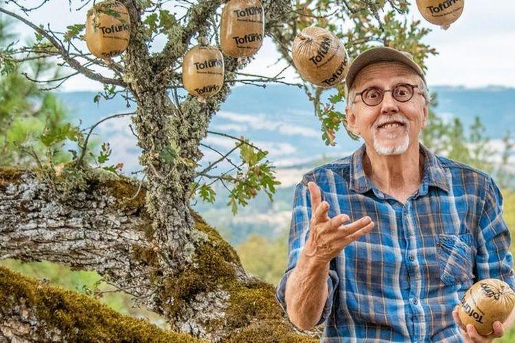 Seth Tibbot, pendiri Tofurky, perusahaan makanan nabati di Amerika Serikat.