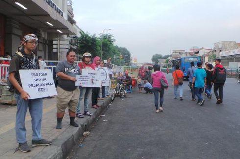 Cerita Koalisi Pejalan Kaki, Dicibir hingga Tiduran di Trotoar