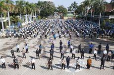 Sembuh dari Covid-19, 41 Santri Disambut Shalawat di Pondok Gontor 2