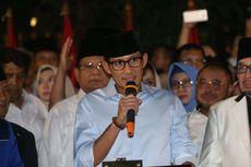 Jadi Cawapres Prabowo, Sandiaga Mundur sebagai Wagub DKI