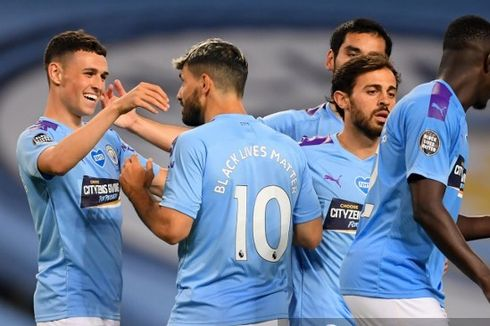 Man City Vs Lyon, The Citizens Dibayangi Catatan Mengkhawatirkan