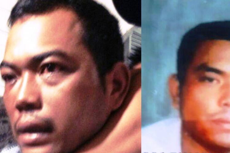 Terduga otak pelaku pembunuhan satu keluarga di Medan, Andi Lala saat diringkus di Riau