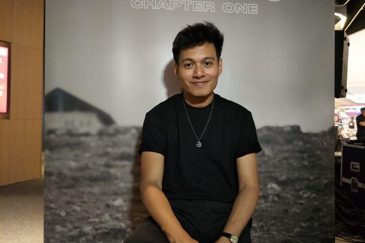 Rendy Pandugo dalam jumpa pers peluncuran EP Chapter One di Mall of Indonesia, Jakarta Utara, Kamis (20/2/2020).