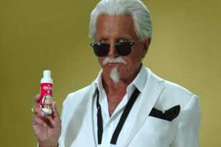 Krim tabir surya dari KFC