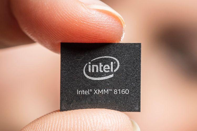 Chip 5G Intel pertama, XMM 8160.