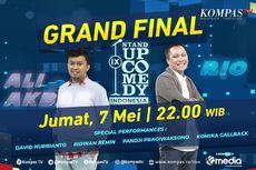 Malam Ini Grand Final SUCI IX Sajikan Duel Ali Akbar vs Rio Dumatubun