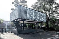Bima Microlibrary Bandung, Perpustakaan Unik dari Kotak Es Krim