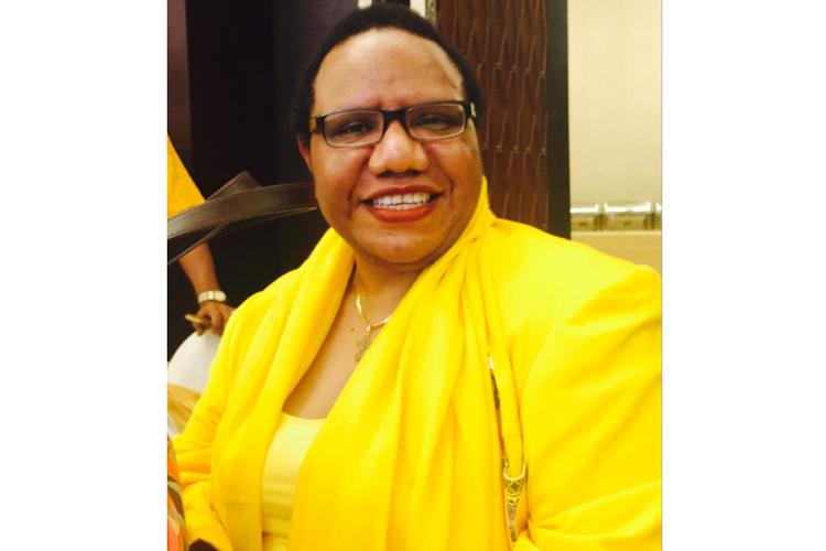 Anggota Komisi VI DPR RI dari Fraksi Golkar Trifena M Tinal.