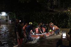 40 Orang Dievakuasi Setelah Terjebak Banjir di Cilandak Saat Rayakan Ultah