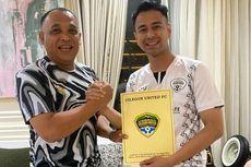Raffi Ahmad Resmi Luncurkan Klub Sepak Bola RANS Cilegon FC
