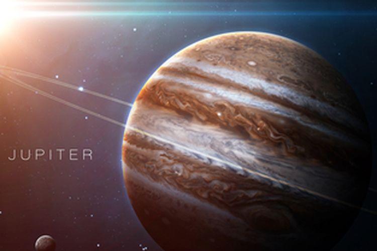 Planet Jupiter, menjadi Planet Bagian Luar
