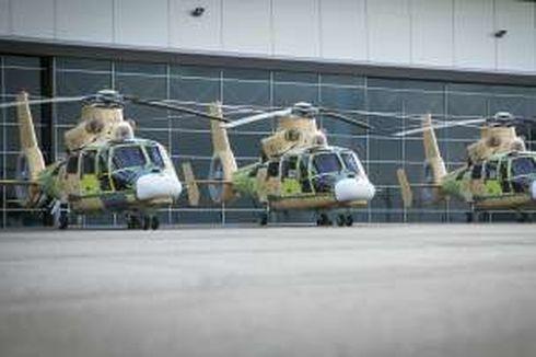 Airbus Serahkan 3 Helikopter AS565 Pesanan TNI AL