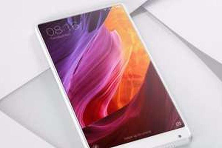 Xiaomi Mi Mix varian warna putih.