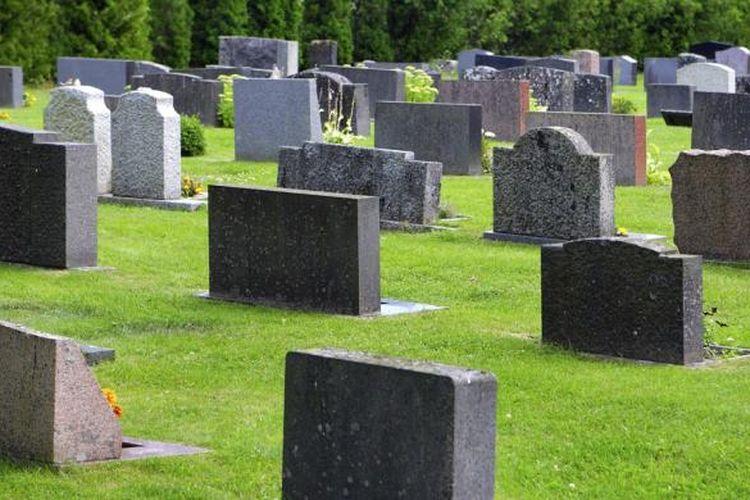 Ilustrasi pemakaman
