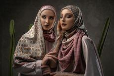 Tampil Atraktif dengan Hijab Motif Bolak-balik