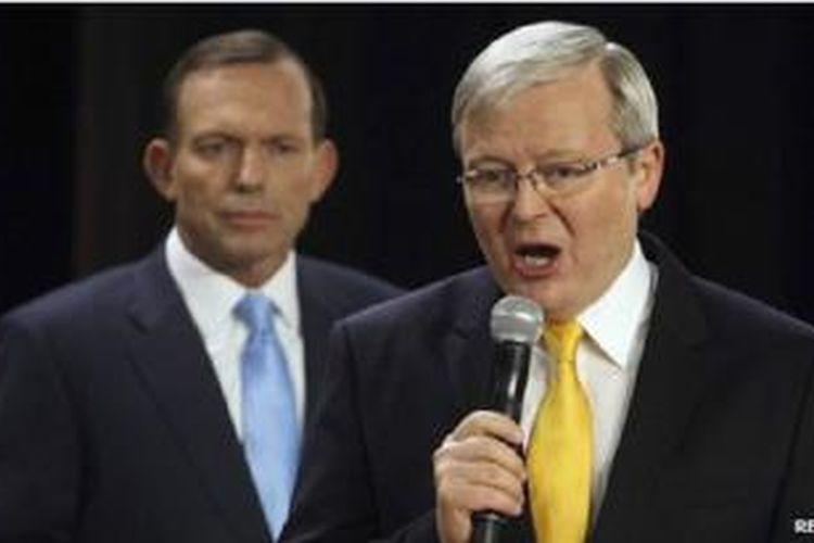 Sebagian besar surat kabar besar mendukung Abbott