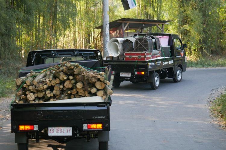 Stabilitas yang dihasilkan suspensi Suzuki Carry tergolong baik untuk ukuran mobil pikap