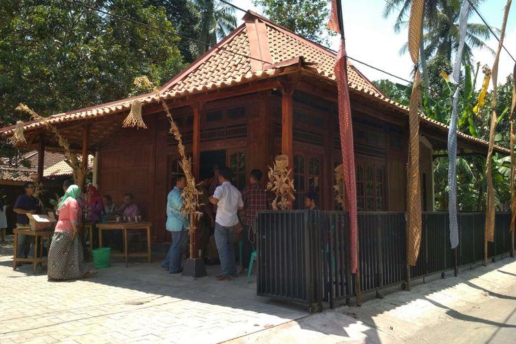 Salah satu homestay di kampung Ngaran II Desa Borobudur, Kecamatan Borobudur, Kabupaten Magelang, Sabtu (23/972017).