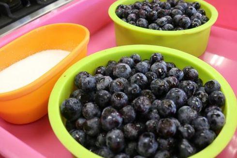 Lezatnya Selai Blueberry di Okayama