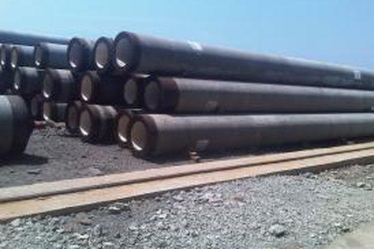 salah satu produksi Krakatau Steel