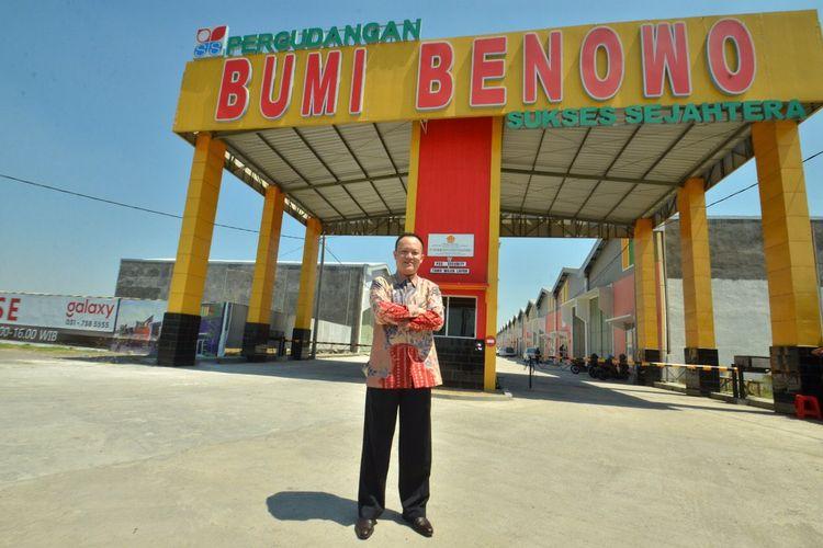 Presiden Direktur PT Bumi Benowo Sukses Sejahtera Tbk Felix Soesanto