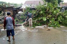 5 Rumah Rusak akibat Diterjang Angin Kencang di Kediri