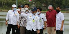 Pengembangan Kawasan Food Estate Kalteng, Jokowi Minta Petani Jangan Hanya Bisa Jual Gabah