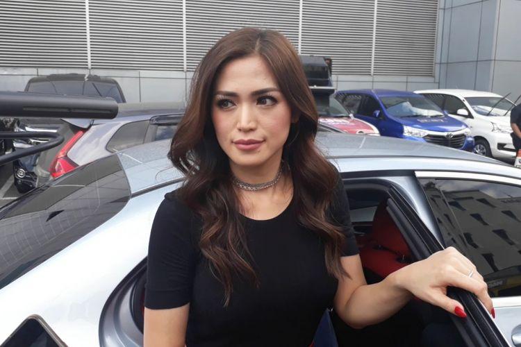Jessica Iskandar dalam wawancara di Studio TransTV, Mampang, Jakarta Selatan, Rabu (6/12/2017).
