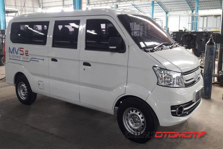 Minivan Listrik MAB yang akan dijadikan Angkot