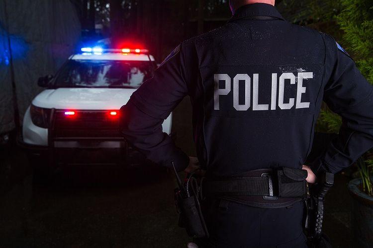 Ilustrasi anggota Polisi
