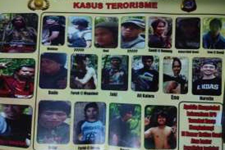 Foto-Foto DPO Teroris Santoso dan Kelompoknya