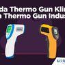 INFOGRAFIK: Beda Thermo Gun Klinik dan Thermo Gun Industri