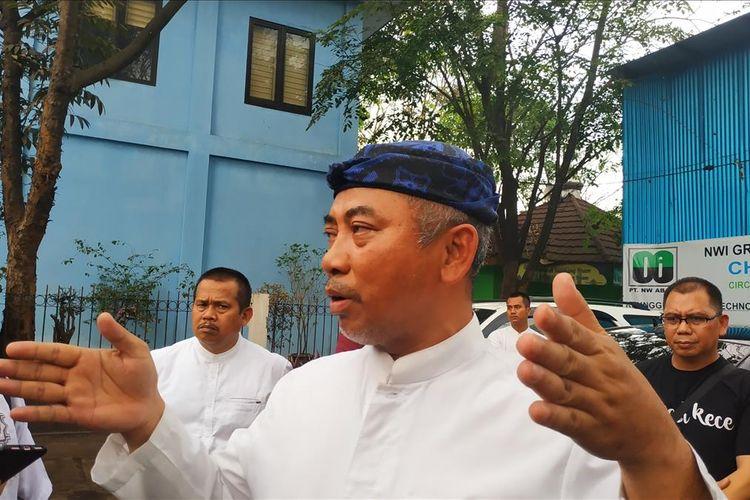 Wali Kota Bekasi, Rahmat Effendi di Sumur Batu, Bantar Gebang, Bekasi, Jumat (19/7/2019).