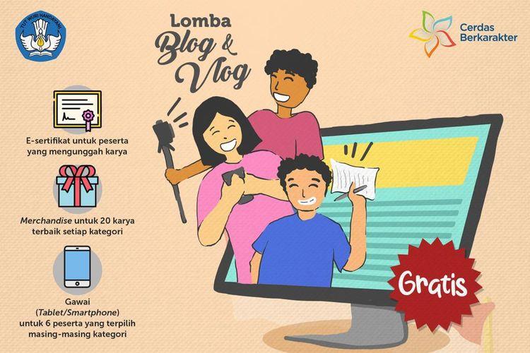 Lomba Blog dan Vlog 2020 oleh Kemendikbud
