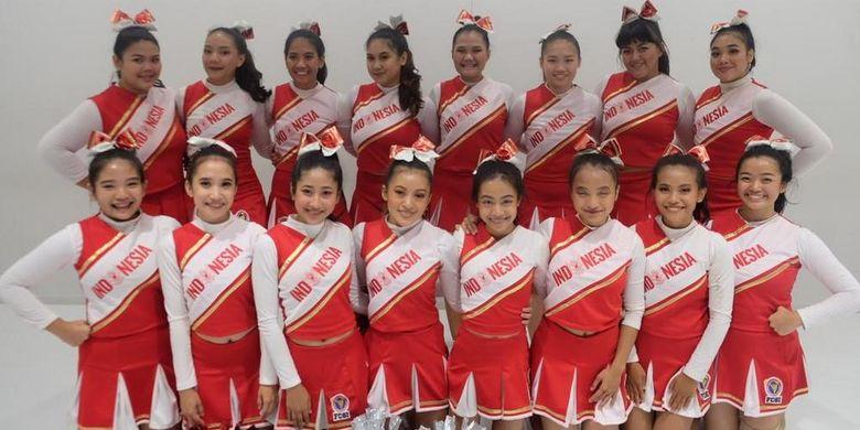 Timnas Cheerleading Indonesia raih medali perunggu pada Kejuaraan Dunia Cheerleading yang Ke-10 Tahun 2019 untuk kategori Cheerleading Junior 1 di Jepang, 23-24 November.