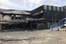 Olah TKP Kebakaran Cahaya Swalayan, Polisi Periksa Saksi dan Ambil Sampel