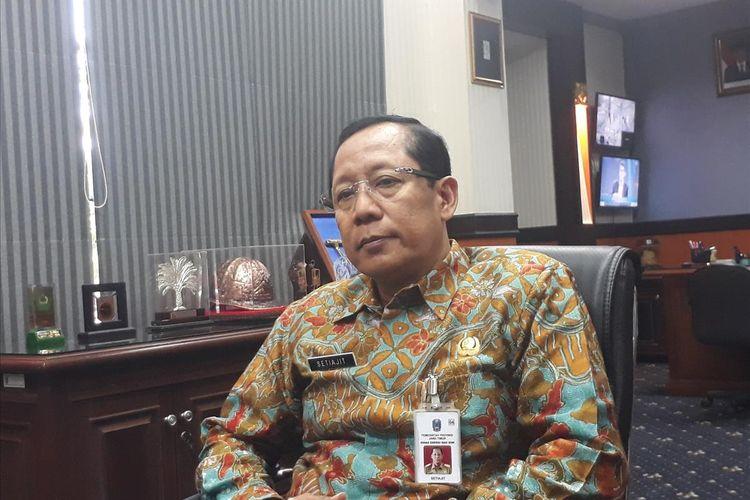 Kepala Dinas Energi dan Sumber Daya Mineral Provinsi Jatim Setiajit