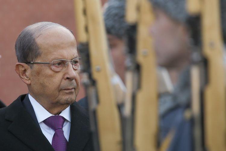 Presiden Lebanon Michel Aoun.