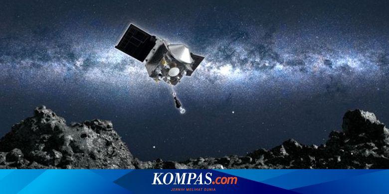 Wahana NASA Mendarat di Asteroid Bennu, Selidiki P