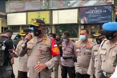 Massa Demo di Depan Kantor Polisi, Minta Polri Tegas Tindak Pelanggar Prokes