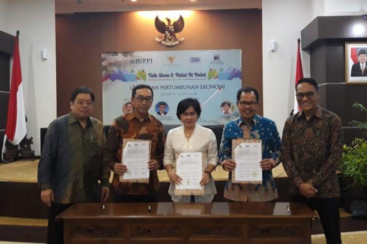 Himpunan Pengusaha Pribumi Indonesia mengatakan UMKM mampu menopang pertumbuhan ekonomi Indonesia, Selasa (10/7/2018). Oleh karena itu, pemerintah semestinya menggandeng UMKM untuk meningkatkan pertumbuhan ekonomi.