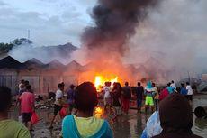 Pasar di Maluku Tengah Terbakar, 14 Ruko Ludes