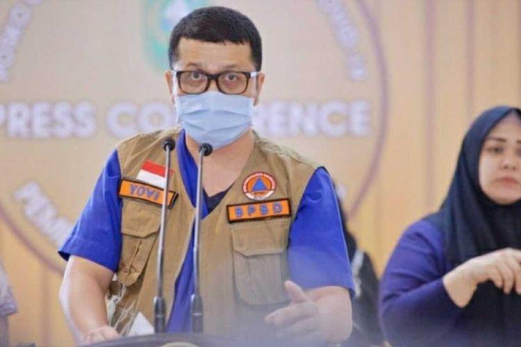 Juru Bicara Gugus Tugas Penanganan Covid-19 Riau dr Indra Yovi. Dok Istimewa