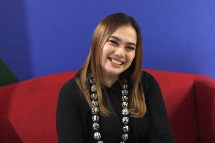 Catherine Wilson di kawasan Tendean, Jakarta Selatan, Kamis (18/2/2021).
