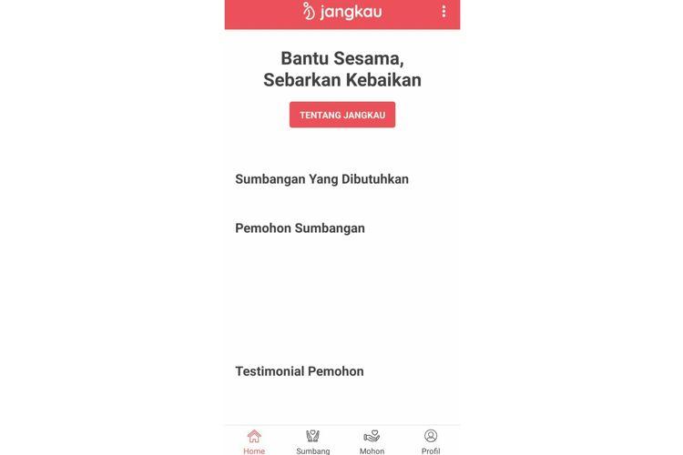 Kini Aplikasi Jangkau ciptaan Basuki T Purnama sudah dapat diunduh di play store.