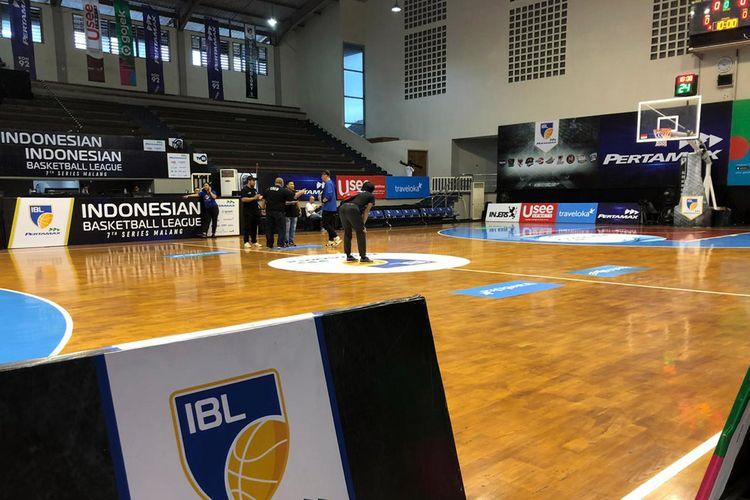 Gor Bimasakti Malang menjadi salah satu venue untuk penyelenggaraan Indonesian Basketball League (IBL) 2020.