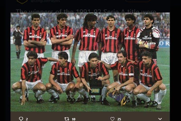 Skuad AC Milan musim 1991-1992