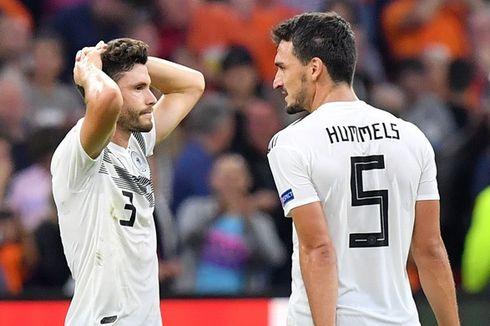 Hummels Anggap Jerman Tak Pantas Kalah Telak dari Belanda