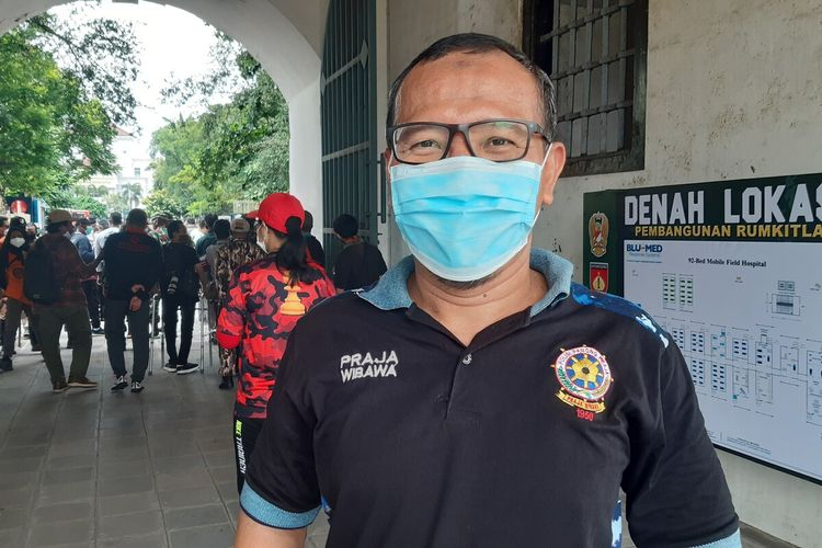 Kepala Satpol PP Kota Solo, Arif Darmawan.