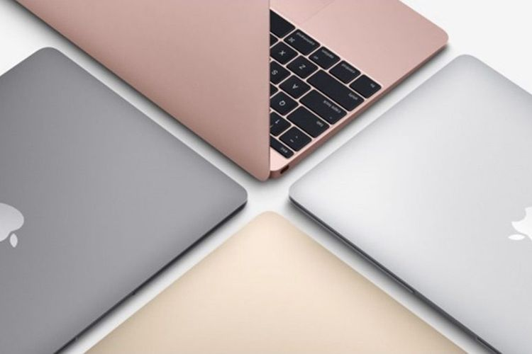 Ilustrasi MacBook 12 inci.